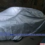 Bạt phủ xe ô tô tiện ích cho ô tô 5 chỗ của anh Giang, số 78 đường Bắc Cầu, Ngọc Thụy, Long Biên