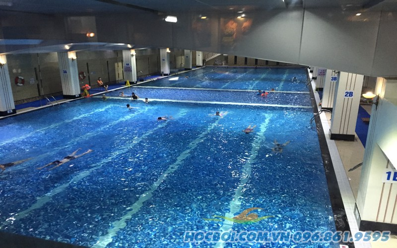 Thỏa mãn ước mơ bơi lội cùng Hapu Swimming Poll
