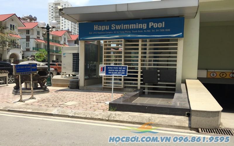 Điểm gửi xe của Hapu Swimming Pool