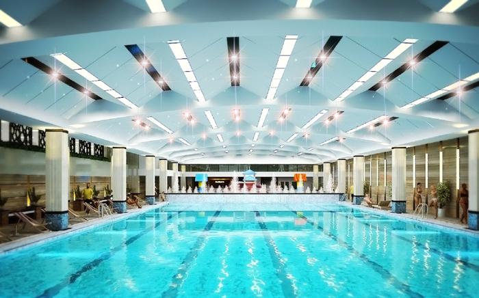 Học bơi trong không gian tuyệt vời của bể bơi Hapulico