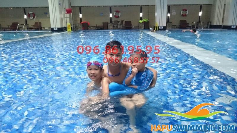 Dạy bơi kèm riêng cấp tốc tại Hapu Swimming