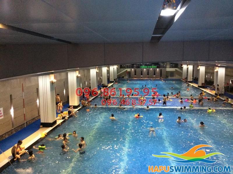 Cải thiện sức mạnh cơ bắp với lớp học bơi bể Hapulico ở Hapu Swimming 02