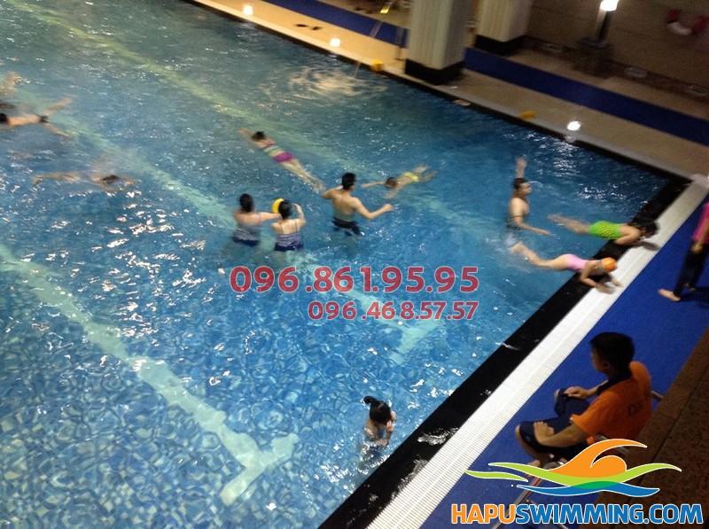 Học bơi Hapulico mang lại nhiều lợi ích cho sức khỏe