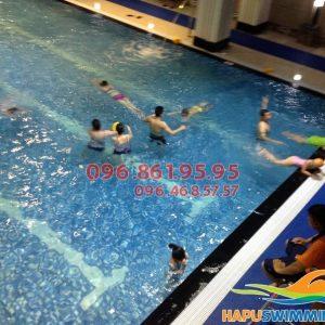 Lớp dạy bơi bể Hapulio kèm riêng của Hapuswimming
