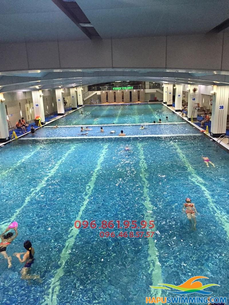 Tại sao bạn nên học bơi tại Hapulico?
