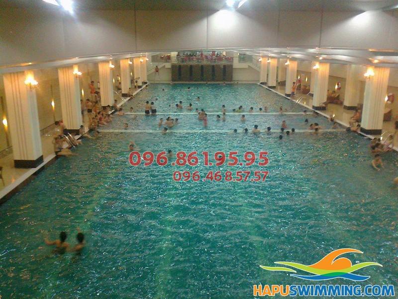 Học bơi bể Hapulico trải nghiệm hè thú vị của bé 01