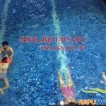 Lớp dạy bơi bể Hapulico – khóa học bơi kèm riêng cấp tốc tại Hà Nội