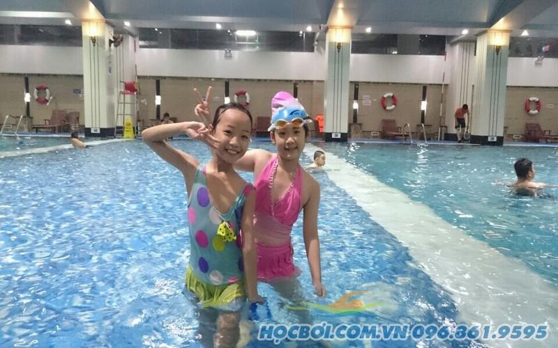 Hapu Swimming có những lớp học bơi nào?