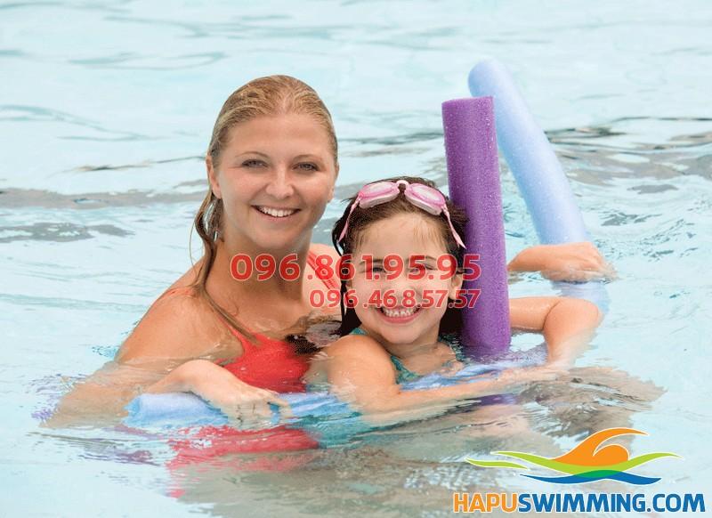 Học bơi kèm riêng chất lượng vượt trội tại Hapu Swimming