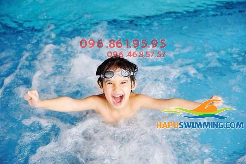 Bơi lội giúp trẻ ăn ngon miệng hơn, Sức đề kháng tốt hơn
