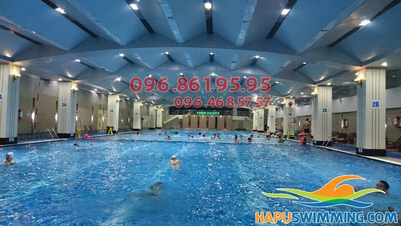 Đánh giá chất lượng bể bơi Hapulico