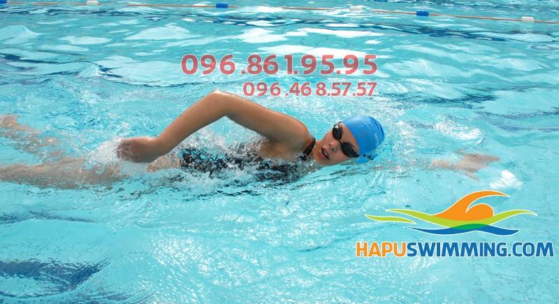 """Hapu Swimming – Địa điểm học bơi sải """"nuột"""" nhất"""