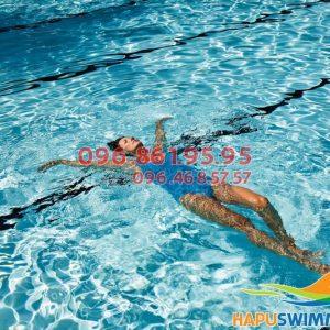 Sở hữu body chuẩn nhờ tham gia lớp học bơi bể Hapulico ở Hapu Swimming