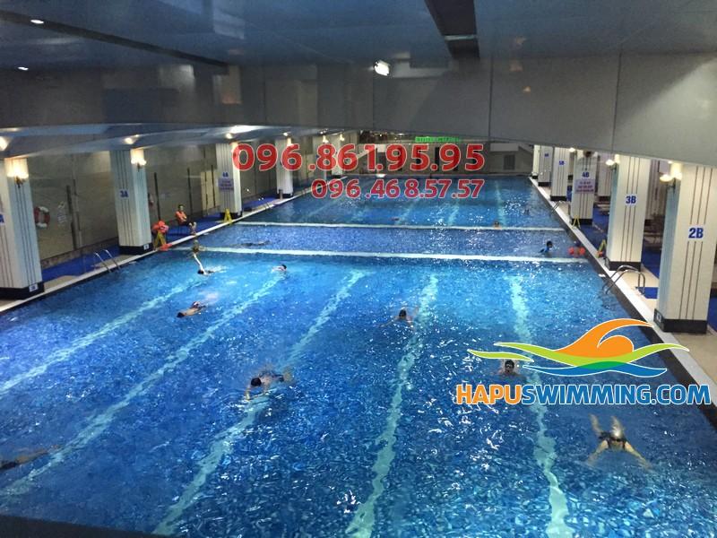 Phân tích hình thức dạy học bơi kèm riêng của Hapu Swimming