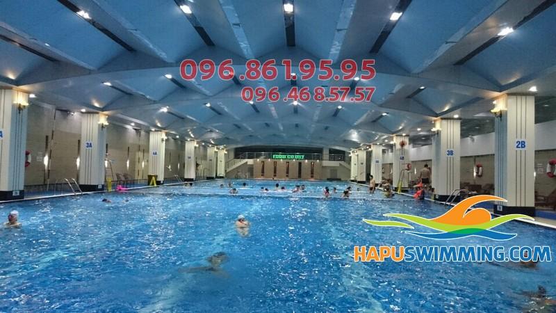 Vì sao Hapu Swimming luôn thu hút được nhiều học viên tham gia học bơi?