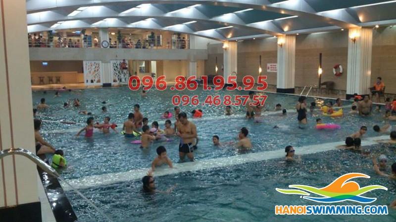 Các lớp học bơi tốt nhất quận Thanh Xuân