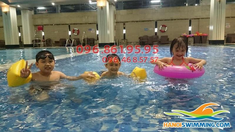 Địa chỉ học bơi tốt nhất quận Thanh Xuân 2017