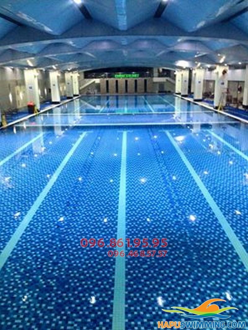 Học bơi bể Hapulico biết bơi nhanh, chi phí rẻ