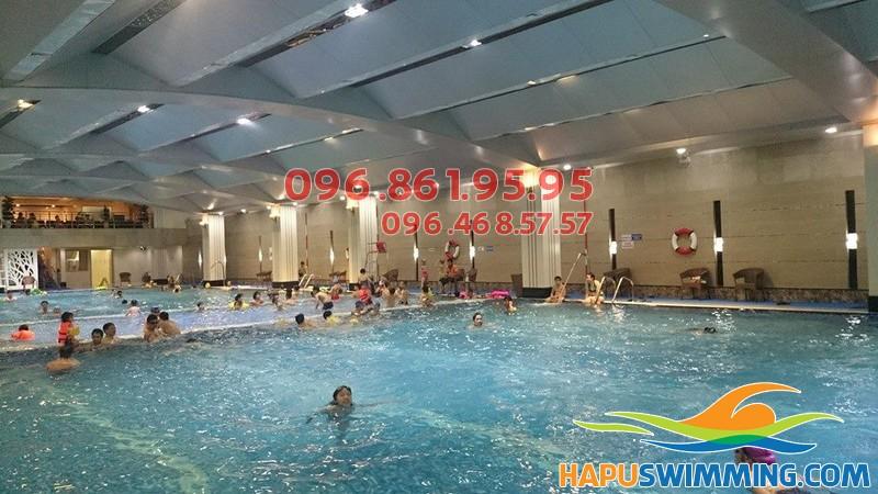 Học bơi chất lượng cao bể Hapulico 2017