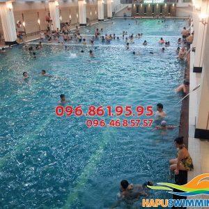 Học bơi cùng kiện tướng quốc gia tại Hapulico 2017