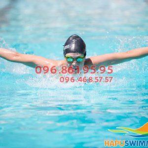 Nội dung khóa học bơi nâng cao bể Hapulico 2017