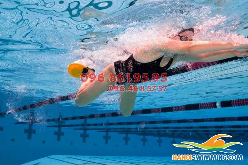 Thông tin chi tiết về lớp học bơi ếch bể Hapulico