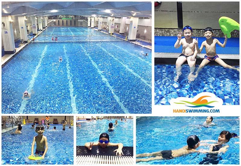 Học bơi kèm riêng trẻ em Hà Nội, Dạy bơi trẻ em