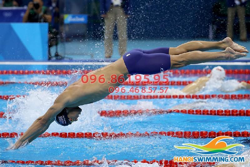 Học bơi nhanh trong 1 tuần tại bể Tăng Bạt Hổ