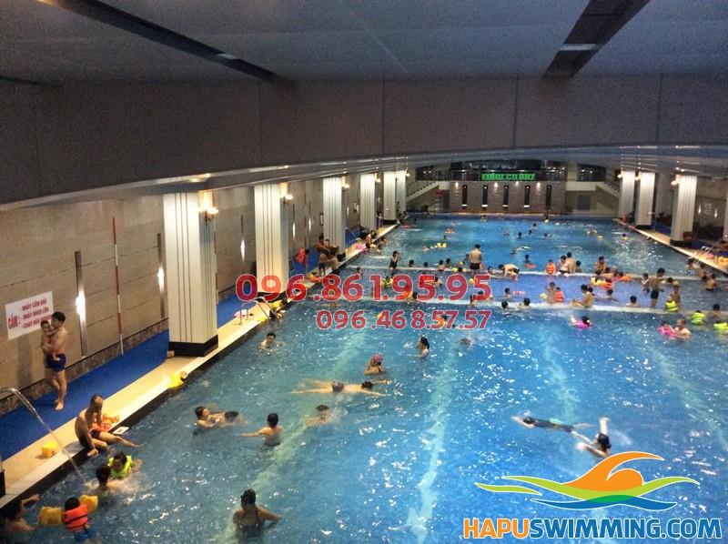 Thông tin cần biết khi đăng kí học bơi tại bể Hapulico