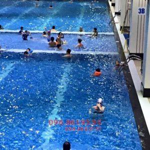 Cần hỏi về chi phí cho một khóa học bơi cơ bản bể Hapulico