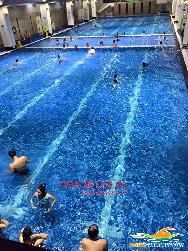 Phí học bơi trọn gói dạng cơ bản cho người lớn bể Hapulico