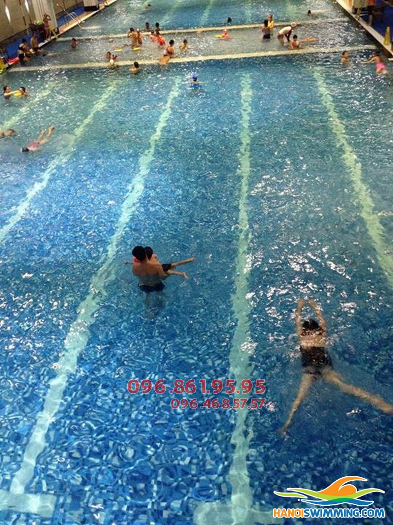 Phổ cập bơi nhanh cho mọi đối tượng và độ tuổi với chi phí rẻ bể Hapulico