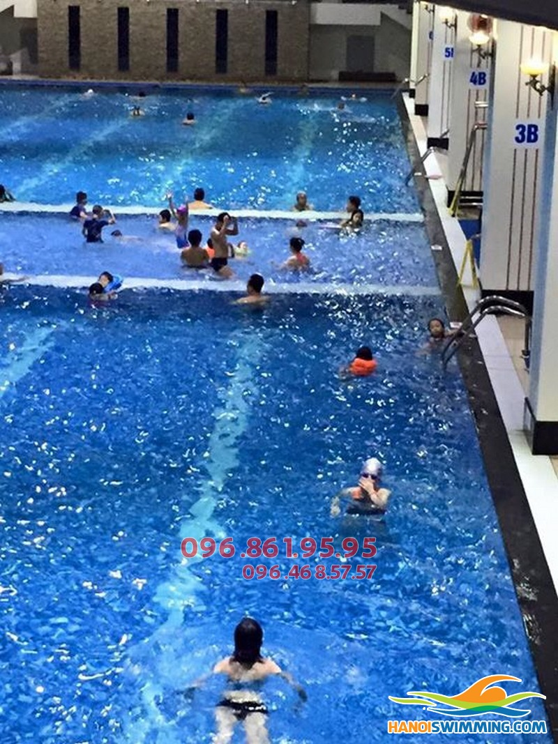 Học bơi với kình ngư nam, nữ tuyển quốc gia tại Hapulico