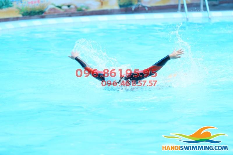 Sự thách thức lớn nhất khi bơi bướm