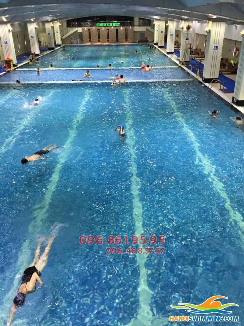 Học bơi tại bể bơi nước nóng Hapulico 2017 với giá siêu rẻ