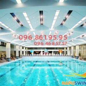 Bơi như ếch chỉ sau 1 khóa học bơi Hapulico _ 02