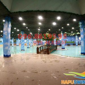 Bể bơi nước nóng Times City địa chỉ: 458 Minh Khai, Hoàng Mai, Hà Nội