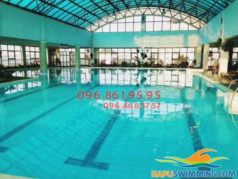 Bể bơi nước nóng Sense Aqua &Spa nằm ở số 20,Thụy Khuê, Tây Hồ.