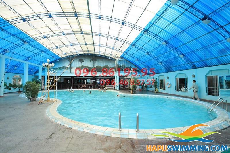 Bể bơi nước nóng chất lượng cao Bảo Sơn – 50 Nguyễn Chí Thanh, Hà Nội