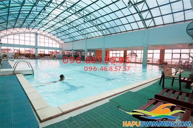 ể bơi nước nóng Sense Aqua &Spa nằm ở số 20,Thụy Khuê, Tây Hồ.