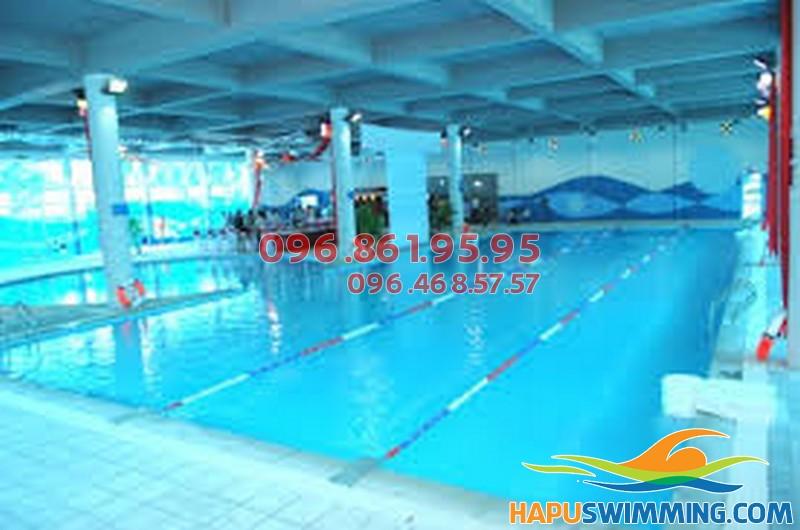 Bể bơi bốn mùa khu TT đoàn Vạn Phúc
