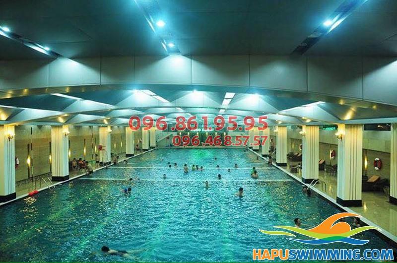 Học bơi bể nước nóng Hapulico 2017 nhiều lợi ích