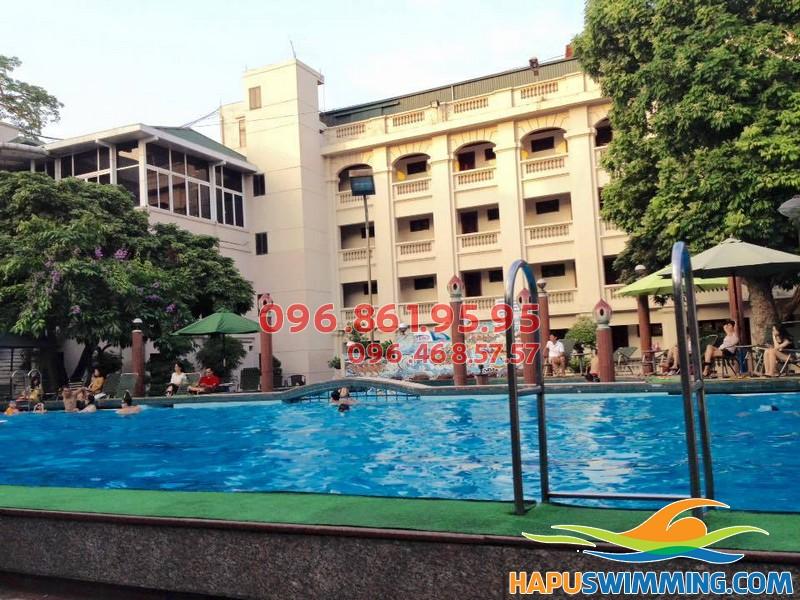 Top 10 bể bơi tốt nhất phục vụ cho hè 2018 - Bể bơi Phạm Ngũ Lão