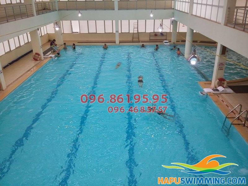 Top 10 bể bơi tốt nhất phục vụ cho hè 2018 - Bể bơi Tôn Thất Thuyết