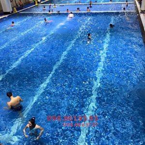 Bể nước nóng Hapulico địa điểm học bơi người lớn cực tuyệt vời