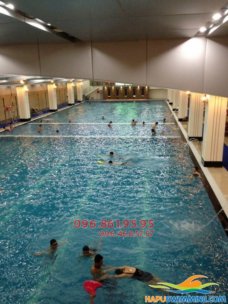Học bơi cấp tốc bể Hapulico 2018 với học phí siêu rẻ
