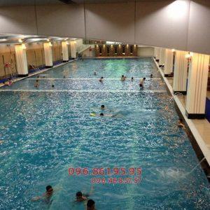 Lớp học bơi ếch bể Hapulico - Địa chỉ uy tín dành cho học viên Hà Nội