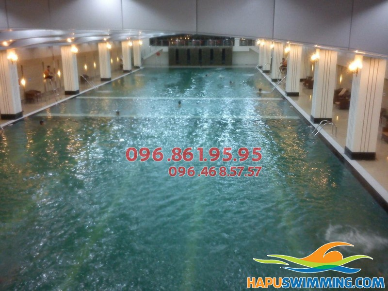 Học bơi bể Hapulico với mức học phí cực rẻ