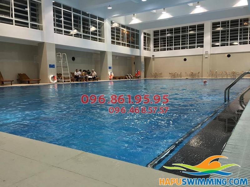 Điểm danh bể bơi Hà Nội tốt nhất cho trẻ em học bơi hè 2018