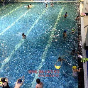 Các lớp học bơi bể Hapulico dành cho người lớn 2018 có gì mới?